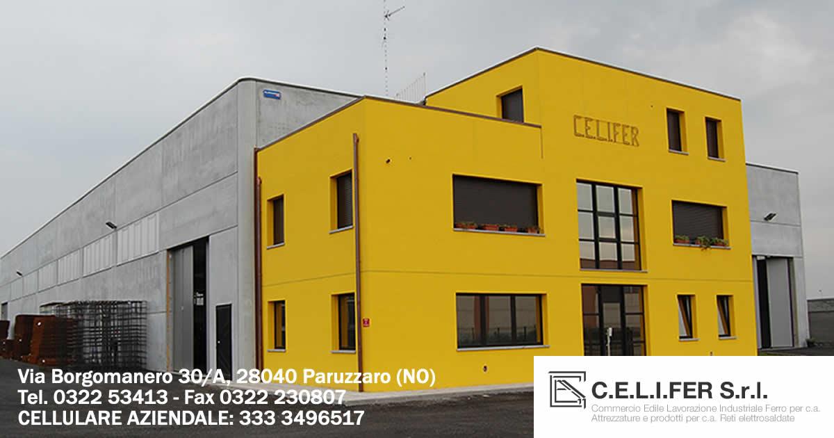 La Celifer Srl è un'azienda specializzata nella produzione di reti elettrosaldate